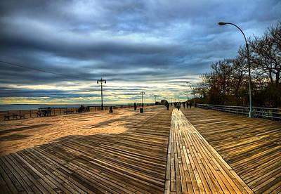 Boardwalk Brooklyn05 Art Print