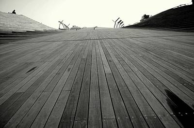 Boardwalk Dreams Print by Dean Harte