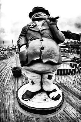 Boardwalk Hobo Art Print by John Rizzuto
