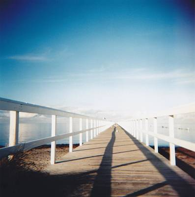 Malmo Photograph - Boardwalk by Monica Forss