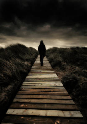 Doomsday Photograph - Boardwalk Of Doom by Meirion Matthias