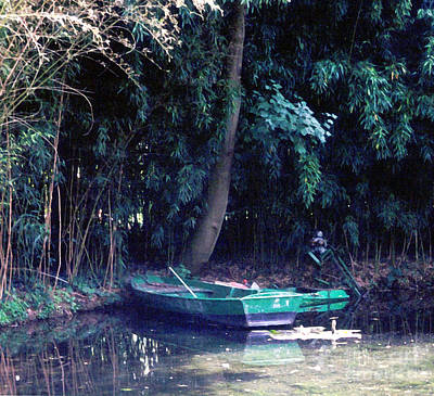 Photograph - Boat At Giverny by Patricia Januszkiewicz