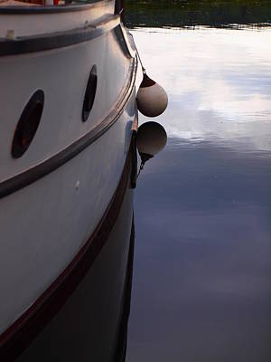 Boat At Rest 1 Art Print by Jim Moore