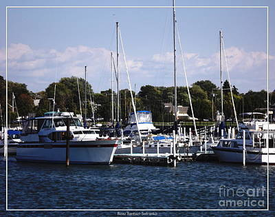 Photograph - Boat Harbor In Dunkirk New York by Rose Santuci-Sofranko