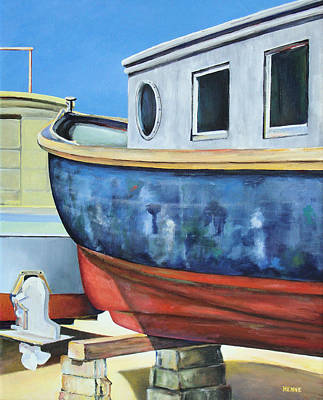 Painting - Boat Hull by Robert Henne