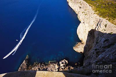 Photograph - Boat In The Sea by Agusti Pardo Rossello