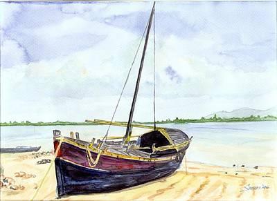Boat Art Print by Saurav Das