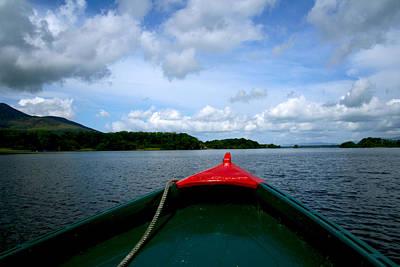 Photograph - Boat Trip To Innisfallen by Van Corey