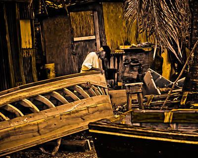 Photograph - Boat Yard by Daniel Marcion