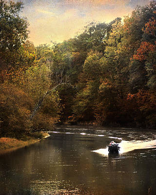 Boating On The Hatchie Art Print by Jai Johnson