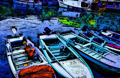Boats 2 Art Print by Mauro Celotti