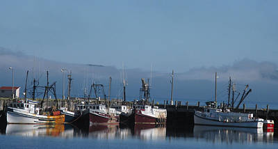 Photograph - Boats And Mist by Patricia Januszkiewicz