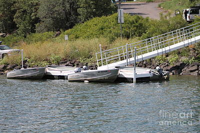 Photograph - Boats At Dock by Pamela Walrath