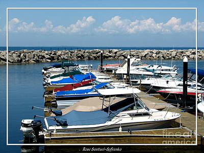Photograph - Boats At Sturgeon Point Marina On Lake Erie In New York by Rose Santuci-Sofranko