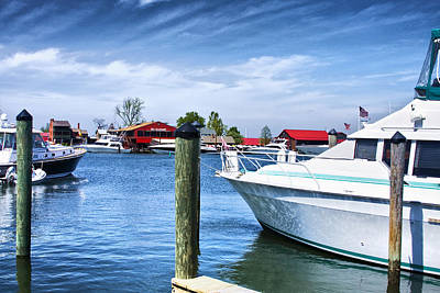 Photograph - Boats Docked by Trudy Wilkerson