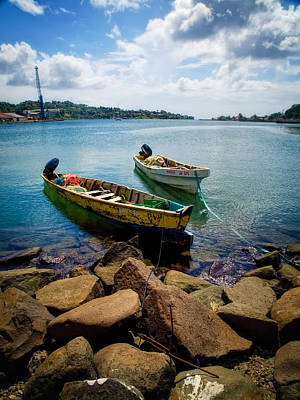 Photograph - Boats In Harbour by Daniel Marcion