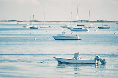 Cape Cod Massachusetts Photograph - Boats In The Ocean by HD Connelly