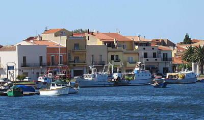 Boats Photograph - boats of Sant Antioco by Len Yurovsky