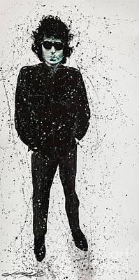 Bob Dylan Painting - BOB by Chris Mackie