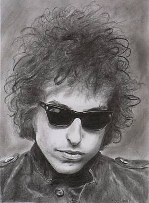 Bob Dylan Art Print by Mike OConnell