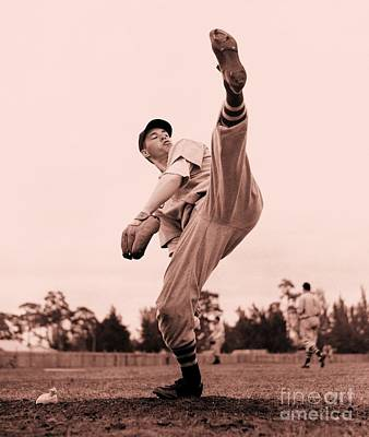 Photograph - Bob Feller by Roberto Prusso
