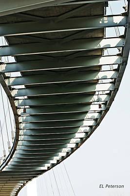 Photograph - Bob Kerrey Pedestrian Bridge by Edward Peterson