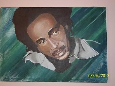 Bob Marley 2011 Art Print by Elaine Holloway