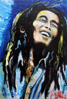 Bob Marley  Art Print by Jon Baldwin  Art