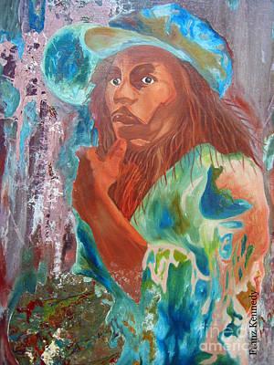 Bob Marley Art Print by Kennedy Franz