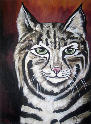 Painting - Bob The Cat by Jill Sluka