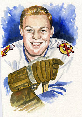 Bobby Hull Original by Ken Meyer jr