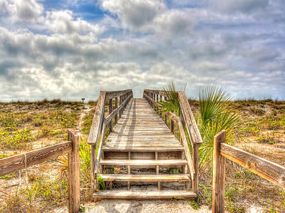 Photograph - Boca Grande Boardwalk by Jenny Ellen Photography