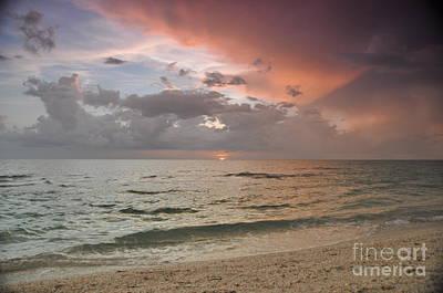 Photograph - Boca Grande Florida Sunset by John Black