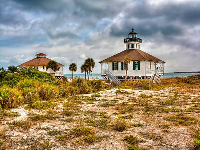 Photograph - Boca Grande Lighthouse by Jenny Ellen Photography