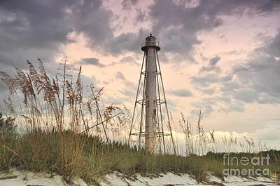 Photograph - Boca Grande Rear Range Light House by John Black
