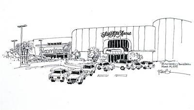 Boca Raton Town Center Mall Art Print by Robert Birkenes