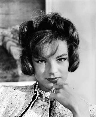 Boccaccio 70, Romy Schneider Wearing Art Print by Everett