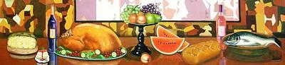 Bodegon Hybrid  Bodegon Hibrido Art Print by Fernando A Hernandez