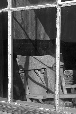 Photograph - Bodi Ghost Town Window by Sandra Bronstein