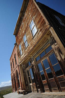 Ghost Town Photograph - Bodie 009 by Earl Bowser