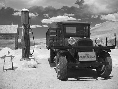 Antique Automobile Photograph - Bodie California - A Trip Back In Time by Christine Till