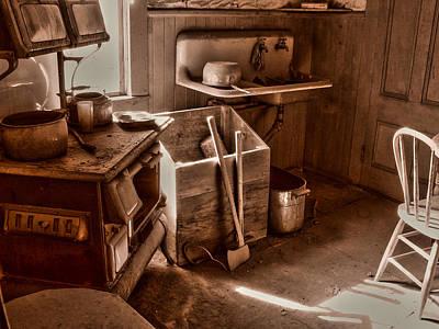 Bodie California Ghost Town Kitchen Art Print by Scott McGuire