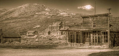 Gold Rush Photograph - Bodie California Ghost Town by Scott McGuire