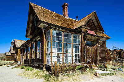 Up201209 Photograph - Bodie Ghost Town One by Josh Whalen