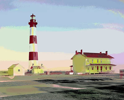 Bodie Island Light Station Art Print by Charles Shoup