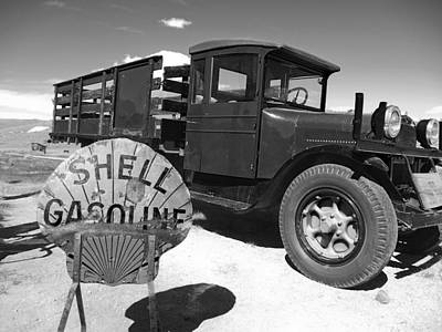 Bodie Shell Gasoline Print by Philip Tolok