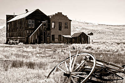 Photograph - Bodie-still Standing by Gary Brandes