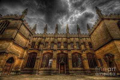 Photograph - Bodleian Library by Yhun Suarez