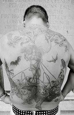 Masochism Photograph - Body Art by Shaun Higson