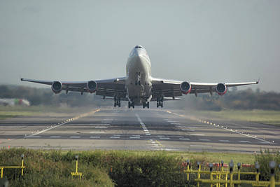 Photograph - Boeing 747-443 by Tim Beach